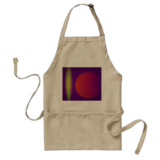 Yellow Light and the Moon Standard Apron