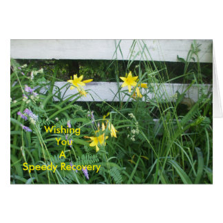 Yellow Lilies Card