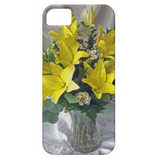 Yellow lilies case for the iPhone 5