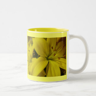 Yellow Lilies Mug