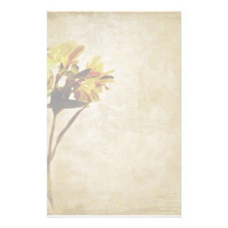 Yellow Lilies Stationery