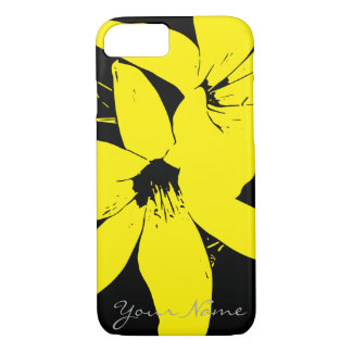 Yellow Lilly Flowers iPhone 8/7 Case