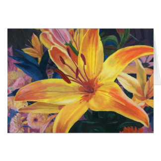 Yellow Lily Card