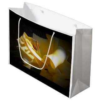Yellow Lily on Paper Bag