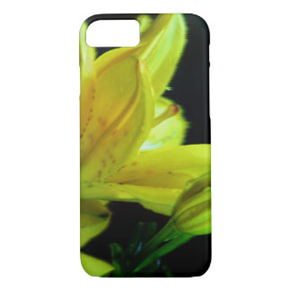 Yellow Lily with Wind Effect by Shirley Taylor Case-Mate iPhone Case