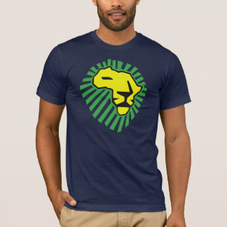 Yellow Lion Green Mane This Time for Africa Shirt