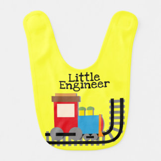 Yellow Little Engineer Bib
