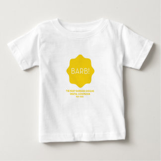 Yellow Logo Baby T-Shirt