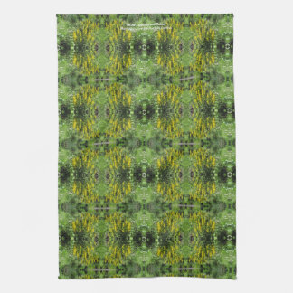 Yellow Loostrife and Daisies Kitchen Towel