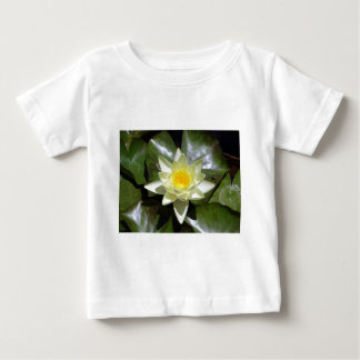 Yellow Lotus and lily pads Baby T-Shirt