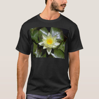 Yellow Lotus and lily pads T-Shirt