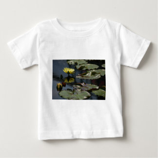 Yellow Lotus Waterlilies Baby T-Shirt