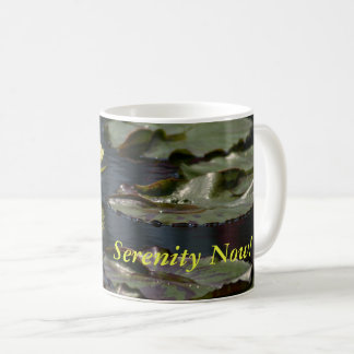 Yellow Lotus Waterlilies Coffee Mug