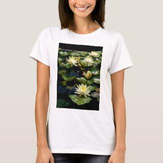 Yellow Lotus Waterlilies T-Shirt