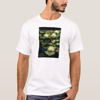 Yellow Lotus Waterlilies T-Shirt