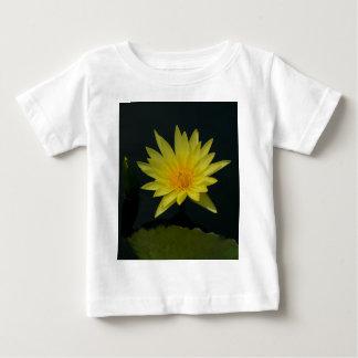 Yellow Lotus Waterlily Baby T-Shirt