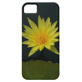 Yellow Lotus Waterlily Case For The iPhone 5