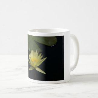 Yellow Lotus Waterlily Coffee Mug