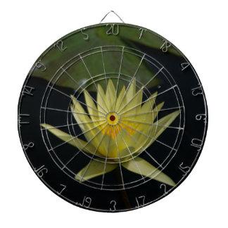 Yellow Lotus Waterlily Dartboard