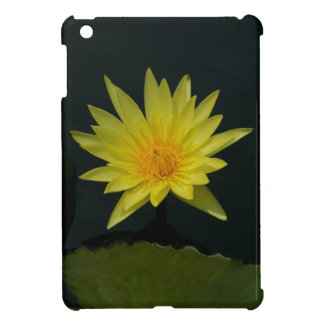 Yellow Lotus Waterlily iPad Mini Case