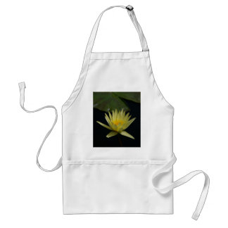 Yellow Lotus Waterlily Standard Apron