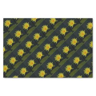 Yellow Lotus Waterlily Tissue Paper