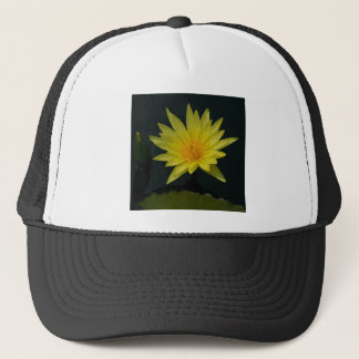 Yellow Lotus Waterlily Trucker Hat