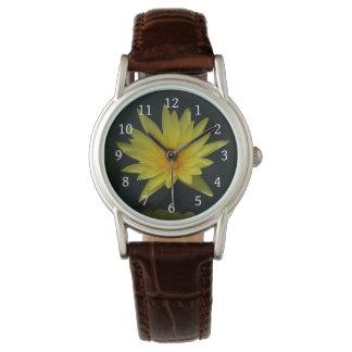 Yellow Lotus Waterlily Watch