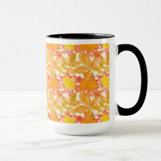 Yellow Maple Leaves Mug