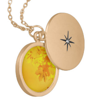 Yellow Maple Necklace