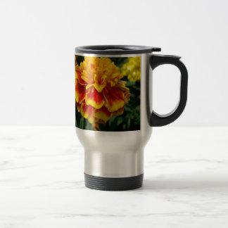 Yellow Marigold Travel Mug