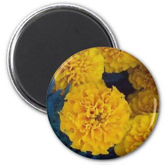 Yellow Marigolds Magnet