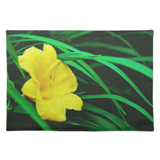 Yellow Michigan flowers Placemat