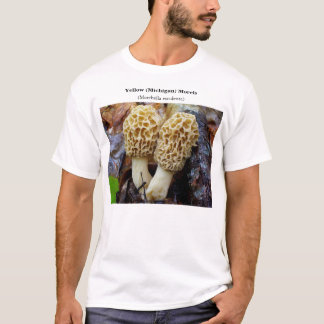 Yellow (Michigan) Morels T-Shirt