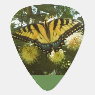 Yellow Monarch Guitar Pick