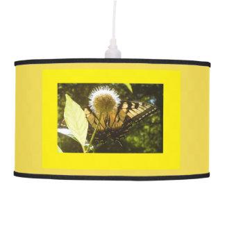 Yellow Monarch Hanging Lamp