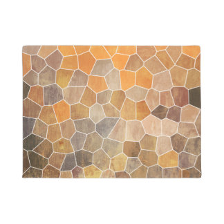 Yellow Mosaic Doormat