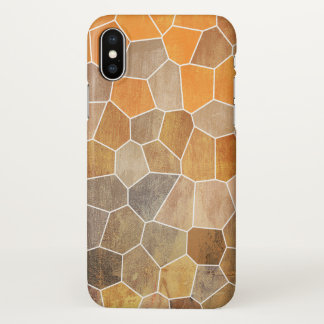 Yellow Mosaic iPhone X Case