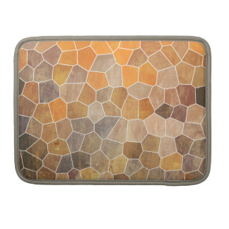 Yellow Mosaic Sleeve For MacBook Pro