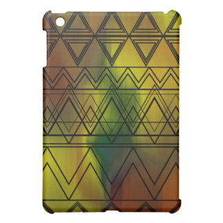 Yellow Multi Tribal Case For The iPad Mini