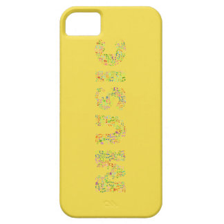 Yellow Music iPhone 5 Case