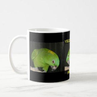 YELLOW NAPE AMAZON COFFEE MUG