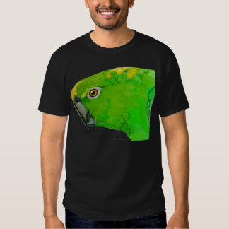Yellow Nape Amazon Parrot (dark design) T Shirts