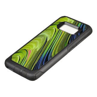 Yellow-Naped Amazon Parrot Feathers by STaylor OtterBox Commuter Samsung Galaxy S8 Case