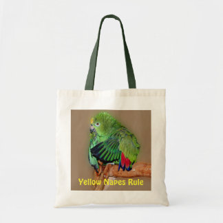 Yellow Naped Amazons Rule Tote Bag