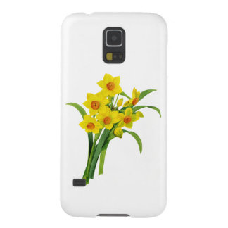 Yellow Narcissus by Pierre Joseph Redoute Galaxy S5 Covers