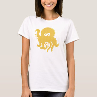 Yellow Octopus T-Shirt