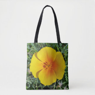 yellow of autumn tote bag
