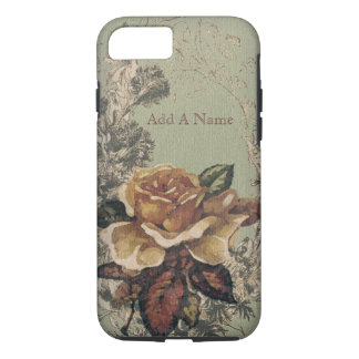 Yellow Old English Roses iPhone 8/7 Case