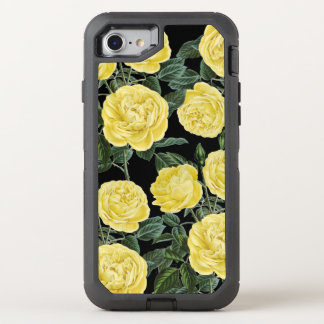 Yellow On Black OtterBox Defender iPhone 7 Case
